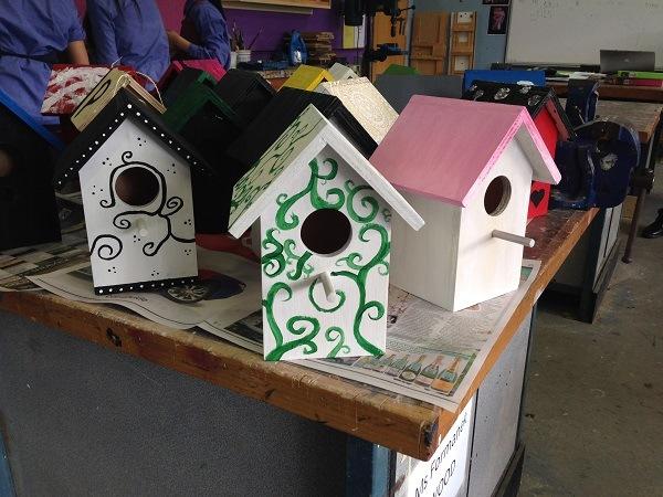 Birdhouses Finished