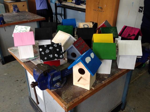 Customised Birdhouses
