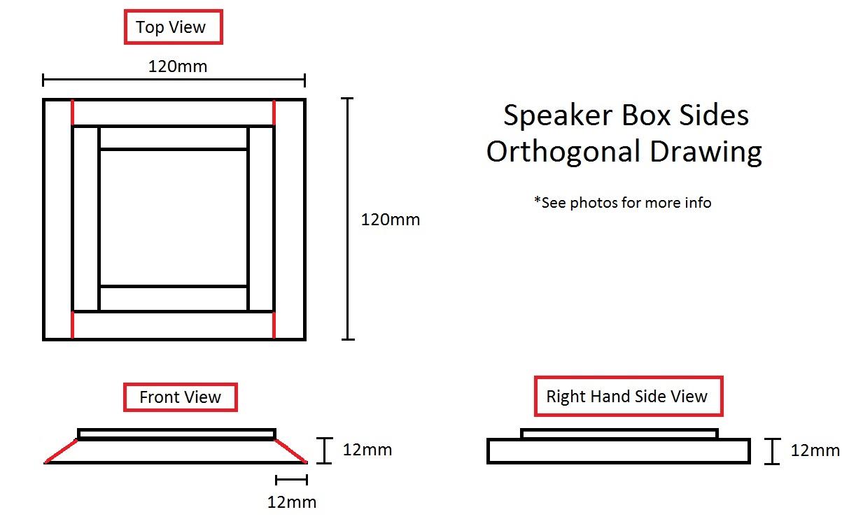 Speaker Box Sides