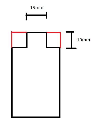 Step 2 - Cut the Tenon